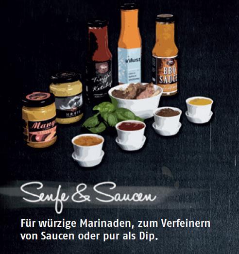 Senfe & Saucen
