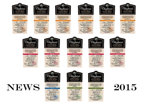 Chieftains Bottlings 2015