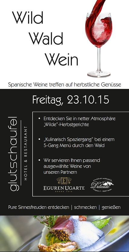 Wein Wald und Wild